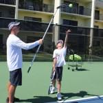 Хорошее упражнение для подброса мяча в теннисе